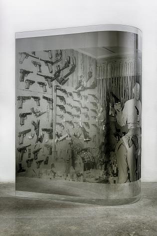 Servane Mary Untitled (Guns and a Man), 2015