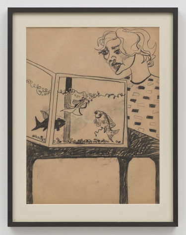 John Tweddle, Woman and Aquarium