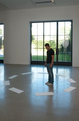 David Lamelas, Signaling of Three Objects
