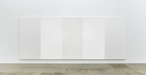 Mary Corse, Untitled (White Inner Band), 2003
