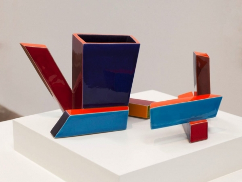 Ken Price, Untitled (Geometric Cup), 1974