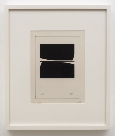 """Jiro Takamatsu Book designs """"in the form of square"""", No. 589, 1973"""