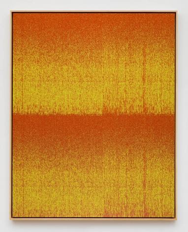 Mika Tajima Negative Entropy (NYU Data Center, Orange, Double), 2018