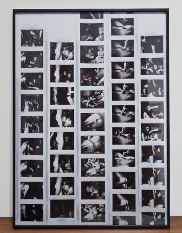 Michel Auder, Cleopatra 13a (Sony printer strips)