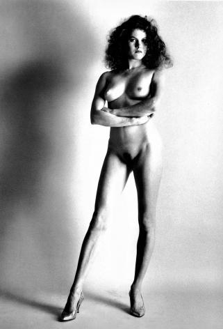 Newton, Big Nude II, Paris, 1980