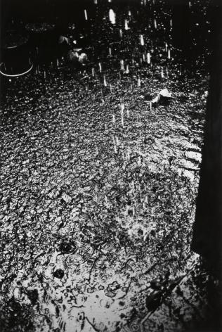 Moriyama, Rain, Tachikawa City, Tokyo, 1990