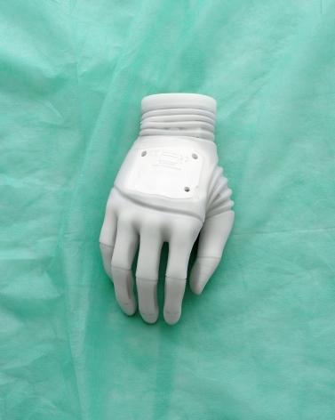 Claus Goedicke, Handprothese, 2013