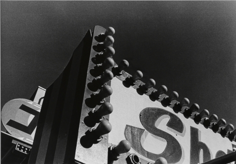 Moriyama, Electric Light Board, Taito-ku, Tokyo, 1990