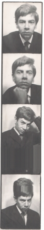 Warhol, Unidentified young man, 1964-67