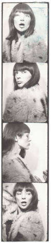 Warhol, Ivy Nicholson's photobooth, 1964-67