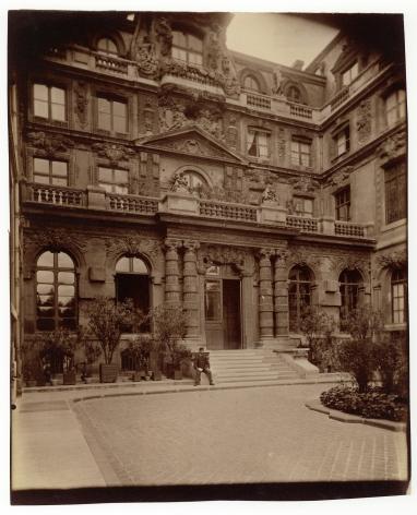 Atget, Hôtel Lavalette, quai des Célestins, c. 1899