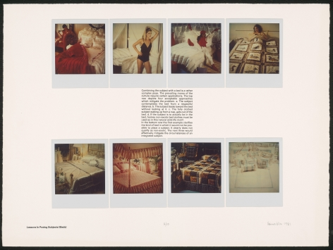 Heinecken, Lessons in Posing Subjects / (Beds), 1981