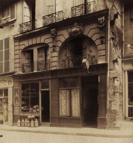Atget, Ancien Hôtel de Courville, rue des bons enfants, 31, 1903-1908
