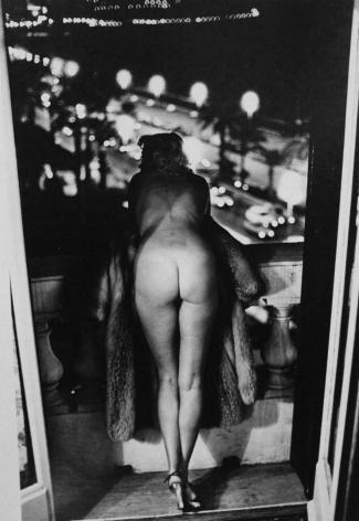 Newton, Winnie at the Negresco, Nice, 1975