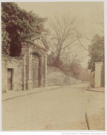 Atget, Petit Château de Colbert, Sceaux, 1901