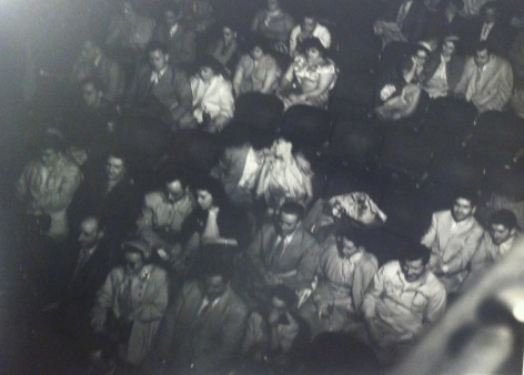 WEEGEE, Audience In The Palace Theater, ca. 1943