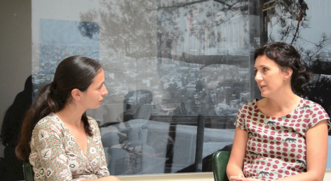 Conversation with Ruth Estévez and Lucia Koch, 2013