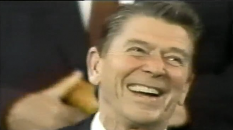 Reagan Tape, 1981, single-channel video, color, sound, 10 min. 39 sec., dimensions variable, edition of 5