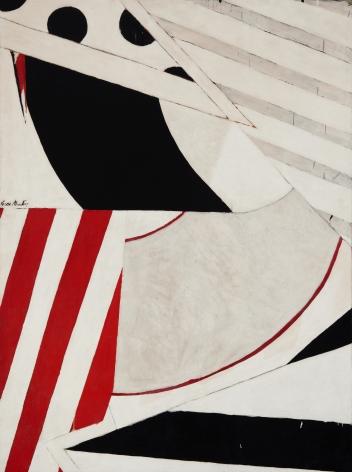 Knox Martin (b. 1923) Shape Shifter, 1962