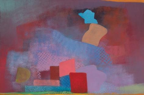 Robert Natkin (1930-2010) Untitled (Bern & Hitchcock Series), 1990