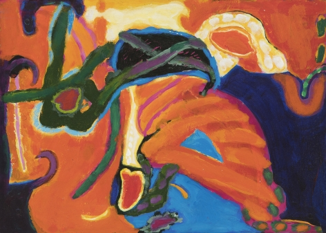 William Scharf, Untitled, circa 1970