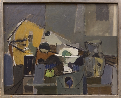 Jack Tworkov (1900-1982) Blue Still Life, 1948