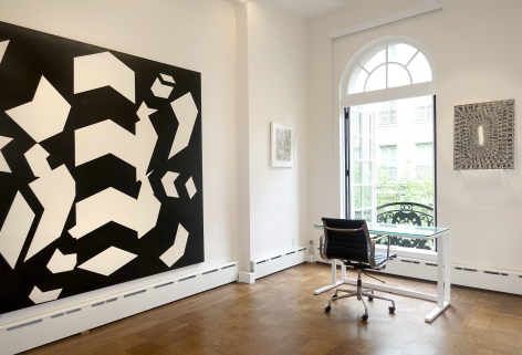 In the Absence of Color: Artists Working in Black and White - Installation view