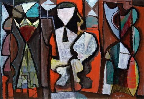 William Baziotes (1912-1963) The Thinker, circa 1943-44