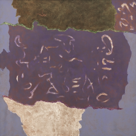 Theodoros Stamos - Infinity Field, Jerusalem Series VI, 1984-5