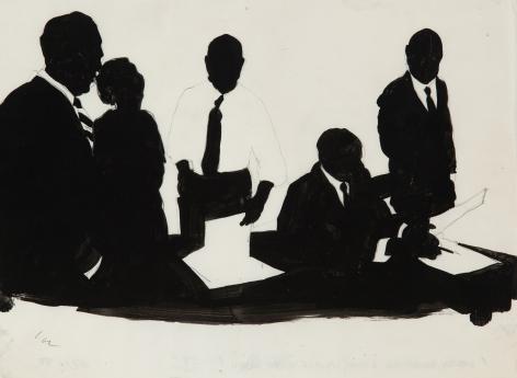 Idelle Weber (b. 1932) Dewey, Ballantine, Bushby, Palmer, 1958