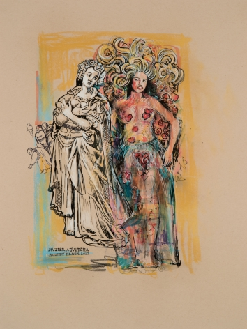 Audrey Flack (b. 1931) Adulteress, 2017