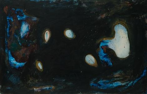 William Scharf (1927-2018) Hole Place, 1964