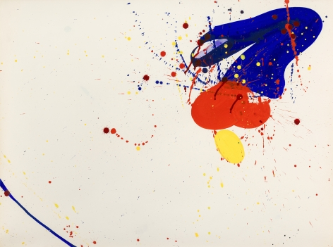 Sam Francis (1923-1994) Untitled (SF62-020), 1962