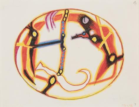 William Scharf, Untitled, 1985