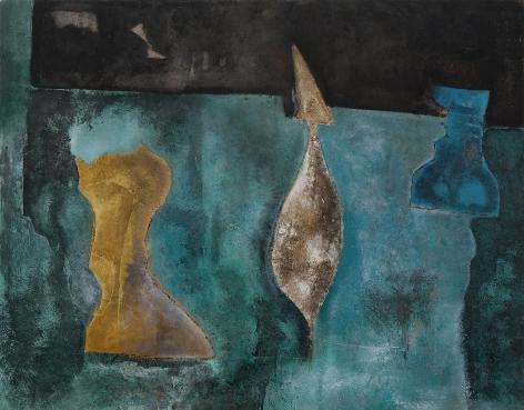 Theodoros Stamos - Three Kings, 1949