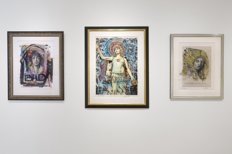 Audrey Flack: Master Drawings from Crivelli to Pollock - Installation view