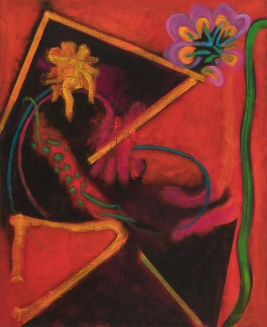 William Scharf, From Matisse's Balcony, 2011