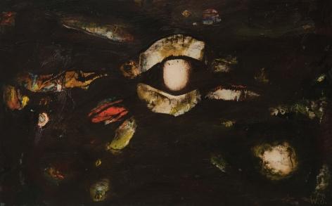 William Scharf (1927-2018) Lid's Night, 1964