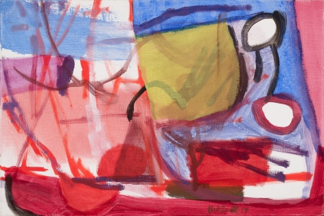 Bill Scott (b. 1956) Shade Garden II, 2017