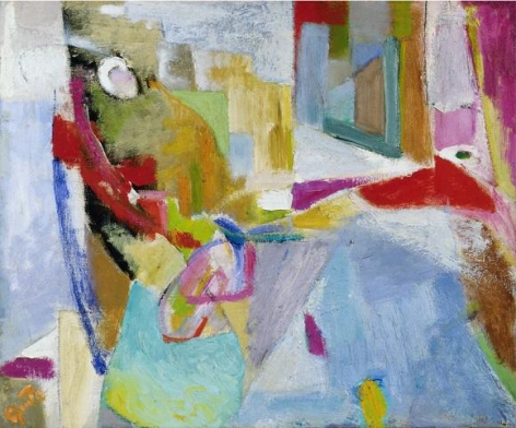 Quita Brodhead (1901-2002) Untitled Abstract, circa 1962-63