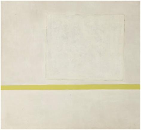 Theodoros Stamos (1922-1997) White Sun-Box I, 1965–6