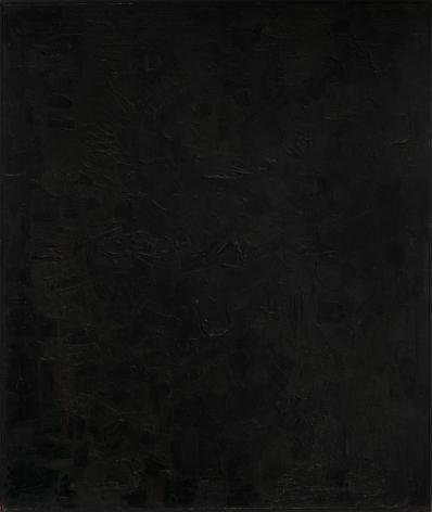 Ben Isquith (1928-1968) Black Painting, 1952