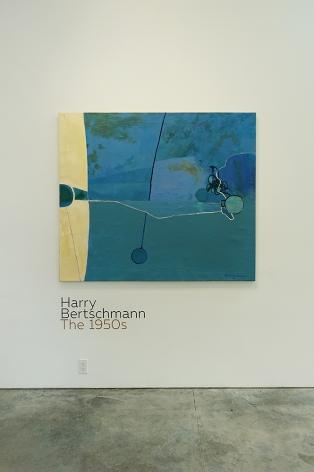 Installation view - Harry Bertschmann: The 1950s
