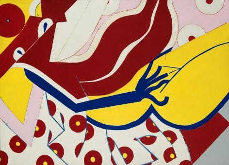Knox Martin (b. 1923) Venus of Urbino, circa 1972