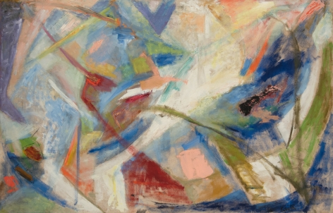 Quita Brodhead (1901-2002) Abstract Forms, 1958