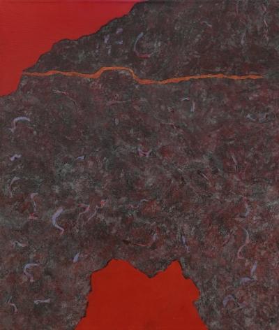 Theodoros Stamos (1922-1997) Edge of Burning Bush, 1980