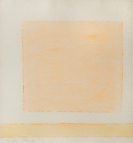 Theodoros Stamos (1922-1997) Untitled (For Billy), 1969