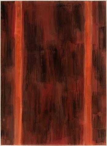 Günther Förg (1952-2013) Untitled (red), 1990