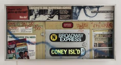 Alan Wolfson, Subway Series (#5), 1993