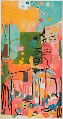 Bill Scott - Early May I, 2014, print
